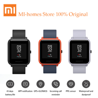 English Version Xiaomi Huami Amazfit Bip Smart Watch Reflection Color Screen 1 28 Baro IP68 Waterproof