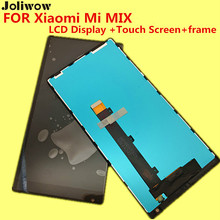 joliwow-tested! FOR Xiaomi Mi MIX LCD Display and Touch Screen+frame Digitizer Assembly Replacement Accessories 6.4″ for mix pro