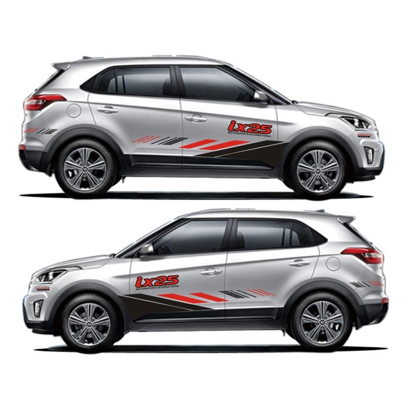 TAIYAO car styling sport car sticker For Hyundai IX25 Creta Mark Levinson car accessories and decals auto sticker car stalls frame cover protective interior decoration stickers for hyundai creta ix25 2016 auto accessories car styling
