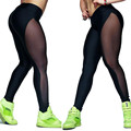 Durable 2017 Hotselling Fashion workout legging Women Mesh  Pants  Fitness Elastic Joggers Leggings