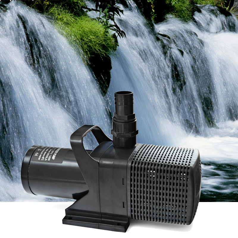 Spb610 amphibious submersible water pump for pond water for Pond water filtration systems home