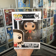 Funko pop официальное телевидение: друзья-Моника Геллер Виниловая фигурка Коллекционная модель игрушки с оригинальной коробкой