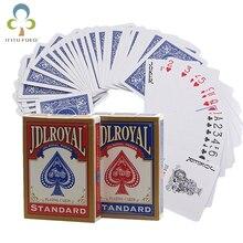 Новейшие Jdlroyal Poker красные/синие обычные игральные карты стандартные герметичные колоды магические трюки покер игральные карты магические трюки GYH