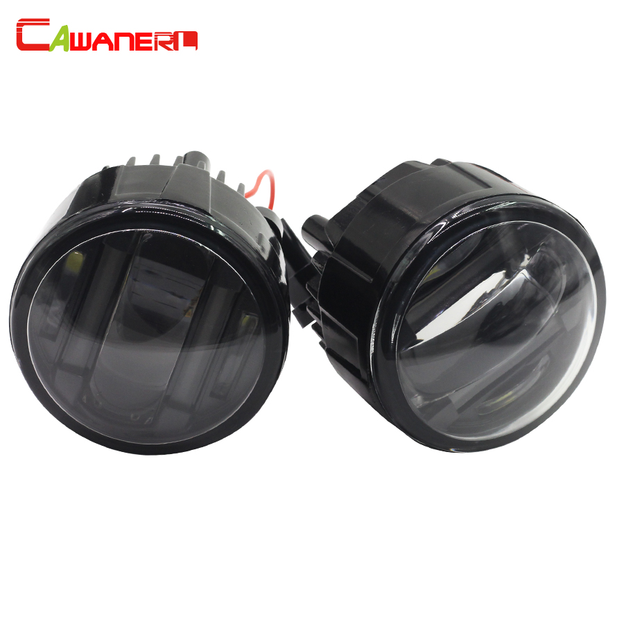Cawanerl For Nissan Murano Cube Car Accessories LED Fog Light Daytime Running Lamp DRL Styling 2 Pieces крышка бензобака для автомобиля nissan cube екатеринбург