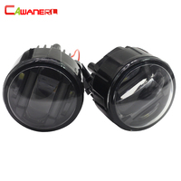 Cawanerl For Nissan Murano Cube Car Accessories LED Fog Light Daytime Running Lamp DRL Styling 2 Pieces