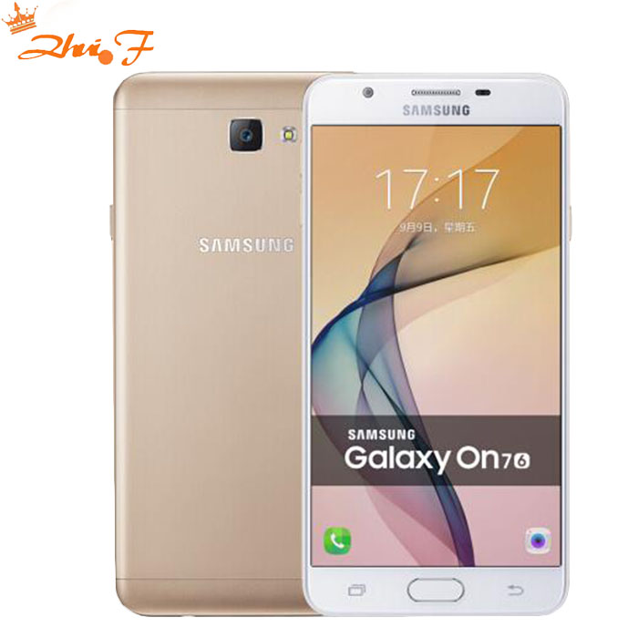 Original New Samsung Galaxy On7 G6100 5.5&#8221;13MP Quad Core 1280&#215;720 Dual SIM Smartphone <font><b>4G</b></font> <font><b>LTE</b></font> Unlocked <font><b>Mobile</b></font> <font><b>phone</b></font>