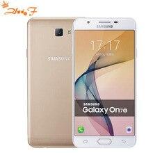 "Original New Samsung Galaxy On7 G6100 5.5""13MP Quad Core 1280×720 Dual SIM Smartphone 4G LTE Unlocked Mobile phone"