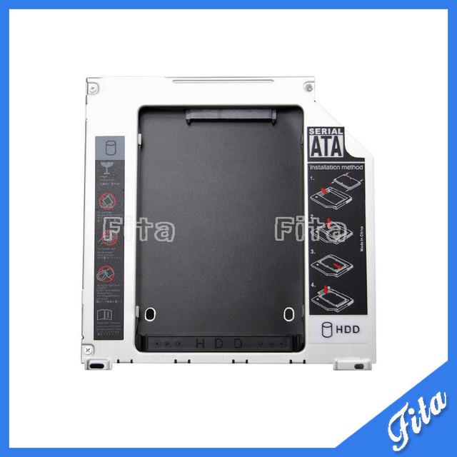 """Nova SATA segundo disco rígido SSD HDD Caddy / adaptador para MacBook Pro A1278 A1286 A1297 2.5 """" / 9.5 mm SATA para SATA HDD Caddy"""