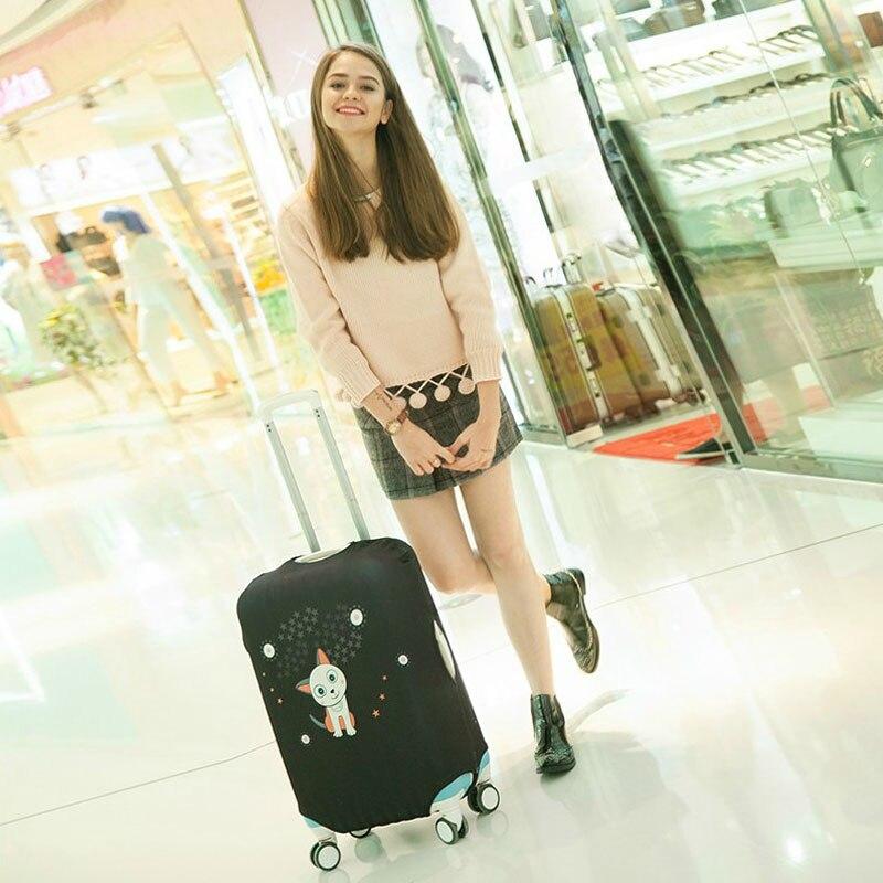 Mænd og kvinder kuffert støvbetræk bagagebetræk passer til 18 til - Rejsetilbehør - Foto 4