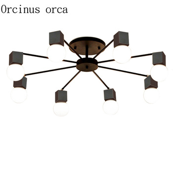 Modern Simple Creative Personality Living Room Lamp Light Room Bedroom Ceiling Lamp American Style Nordic Lighting