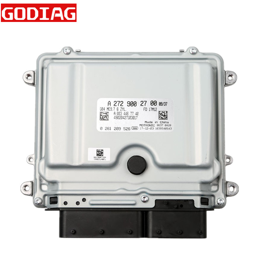 US $289 0 |For Mercedes ME9 7 ECU ECM 272 Engine Computer Programming  Meanwhile Compatible with All Series of 273 Engine 4 6L 4633CC V8 on
