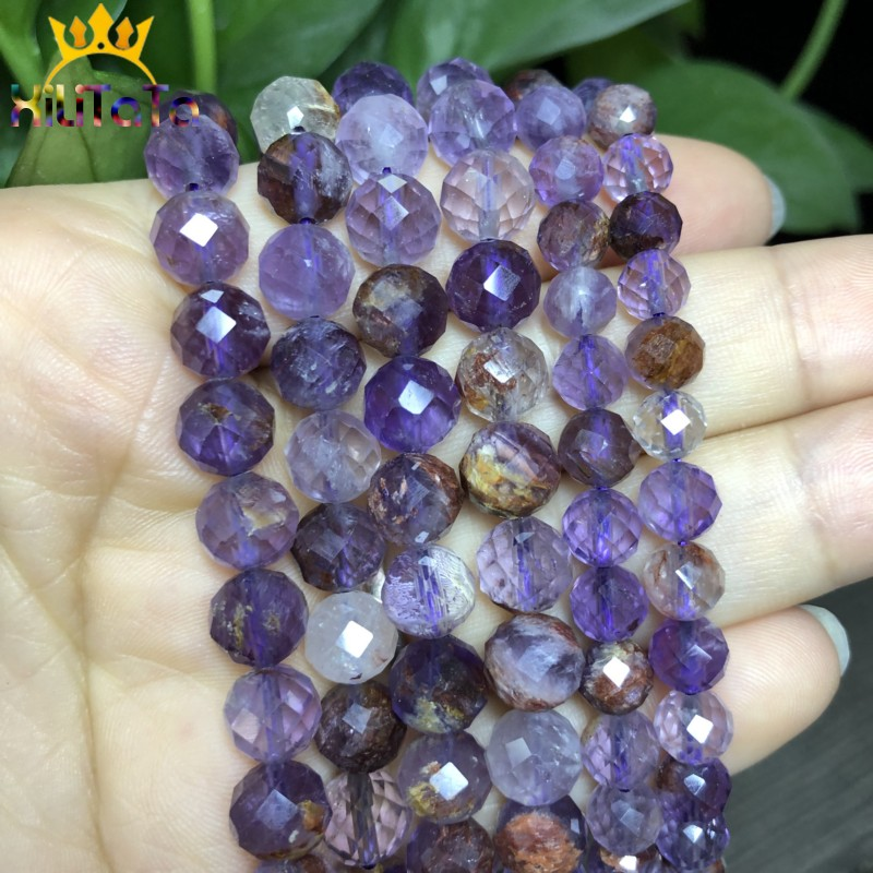 Pcs Art Hobby Jewellery Violet Czech Crystal Glass Faceted Bicone Beads 6mm 50