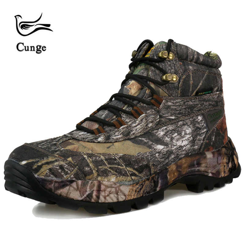 03f51f71988 ... Men s hiking boots Camouflage Combat Ankle Boots Desert Army Shoes  Military Tactical Boots Special Force Breathable ...