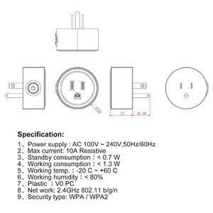 Image 5 - スマート充電器無線 lan リモートコントロールタイマー switcher パワー USType 監視音声制御と Alexa Google 家電ミニ