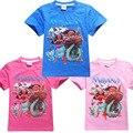 Maui Pau Sail Beyond The Horizon Girls T-shirt Ruffle Raglan Shirts Male And Female Children Short Sleeved Cotton T-shirt