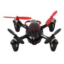 HUBSAN Original H107C 4 Axes 2.4GHZ Wireless Remote Control Quadcopter With 2MP HD Camera Best Gift Black & Red