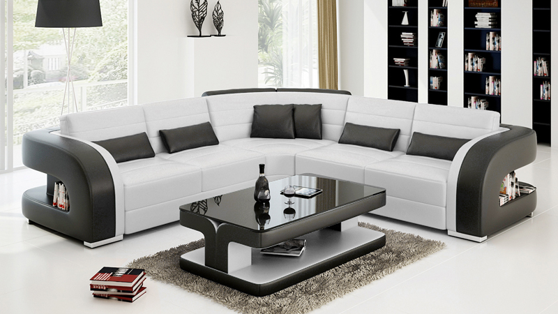 Real Leather Sofa Set Modern Style Sofa in Living Room Sets from     Real Leather Sofa Set Modern Style Sofa in Living Room Sets from Furniture  on Aliexpress com   Alibaba Group