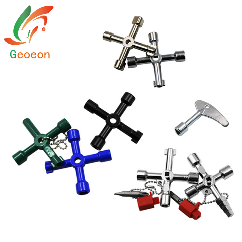 4/5 in 1 Universal Cross KEY Triangle KEY Wrench for Train Electrical Elevator Cabinet Valve Alloy Triangle Square A47-55 triangle tr657 295 75r22 5 144 141m tl