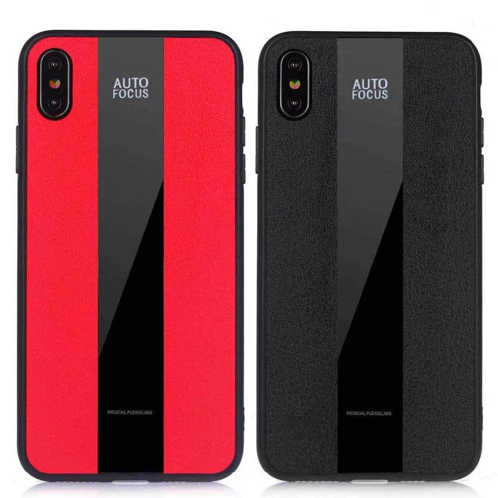 san francisco 52630 8851f Luxury Porsche Design Leather Texture Phone Cases For iPhone XS Max XR X 10  Tempered Glass Cover For iPhone 6 6s 7 8 Plus coque