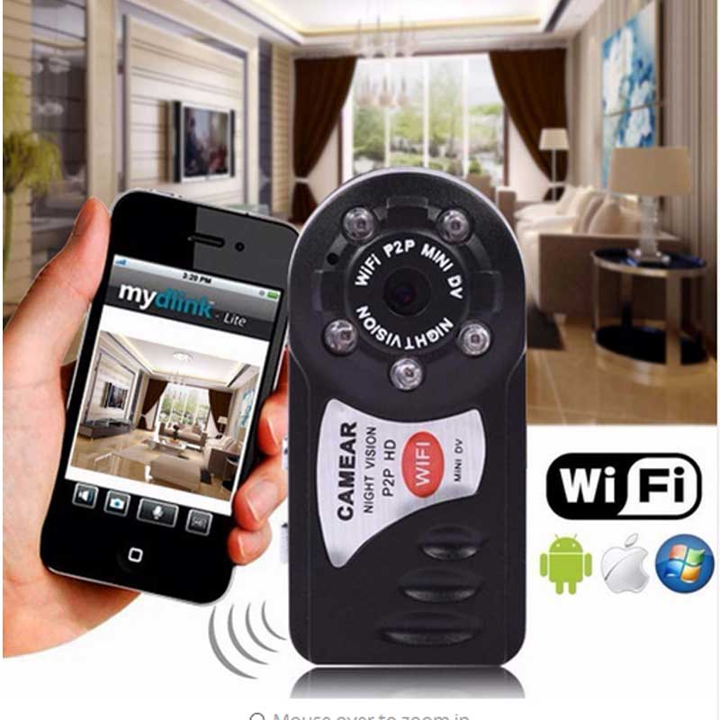 Q7 Mini Wifi Camera DVR Sport Wireless IP Camcorder Video Recorder Camera Infrared Night Vision Camera Motion Detection