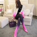 Japanese Spring Autumn Pantyhose Velvet Gradient 3 Colors Young Female Tights Warm Package Hip Slim Breathable Free Size