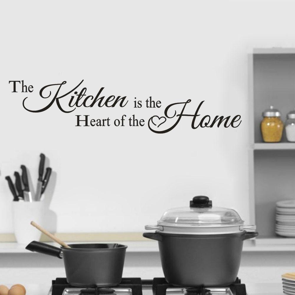Лидер продаж в Кухня домашнее украшение Стены Стикеры наклейка Спальня винил Книги по ис ...