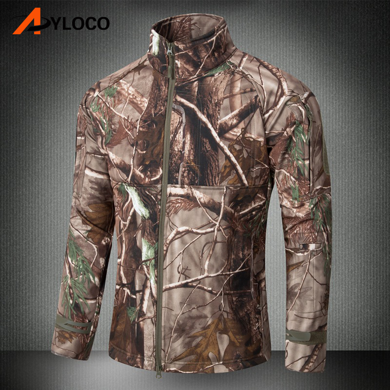 Men Military Shark Skin Soft Shell V4 Tactical Jacket Men Waterproof Windproof Warm Coat Camouflage Army Clothing for Hiking Men Military Shark Skin Soft Shell V4 Tactical Jacket Men Waterproof Windproof Warm Coat Camouflage Army Clothing for Hiking