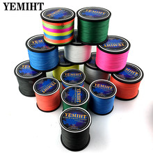 YEMIHT 300M 8 Strands 4 Strands Japan Braided Fishing Line Multifilament Braided for Carp Fishing