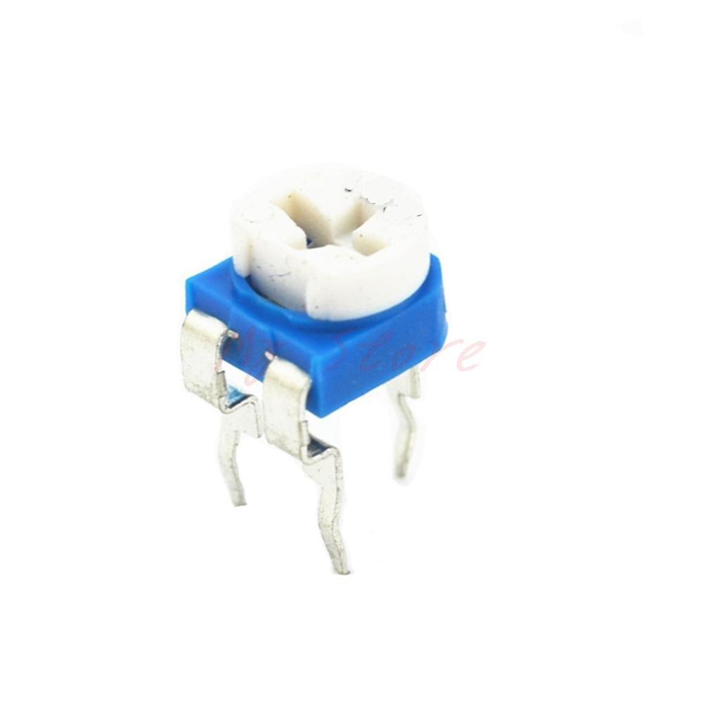 10PCS RM065 100K Ohm Trimmer Trim Pot Variable Resistor Potentiometer 6mm 104 фото