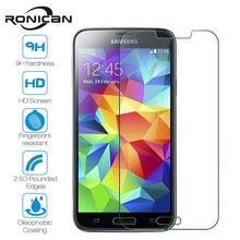 RONICAN закаленное стекло для samsung Galaxy S6 S5 S4 S3 J3 J5 J7 J1 mini Grand Prime Защитная пленка для экрана