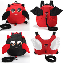 Angle Rabbit Kid Keeper Safety Harness Angel Wing backpack anti lost backpack School Bag Toddler Walking Bag safety schools