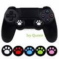 IVYQUEEN 4 pcs Cat Paw Rubber Silicone Analog Thumb Sticks Grips Caps Cover for Dualshock 4 PS4 Pro Slim Controllers Accessories