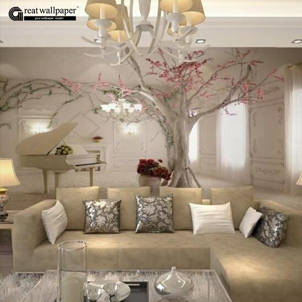schöne tapeten fürs wohnzimmer | haus design ideen, Wohnzimmer