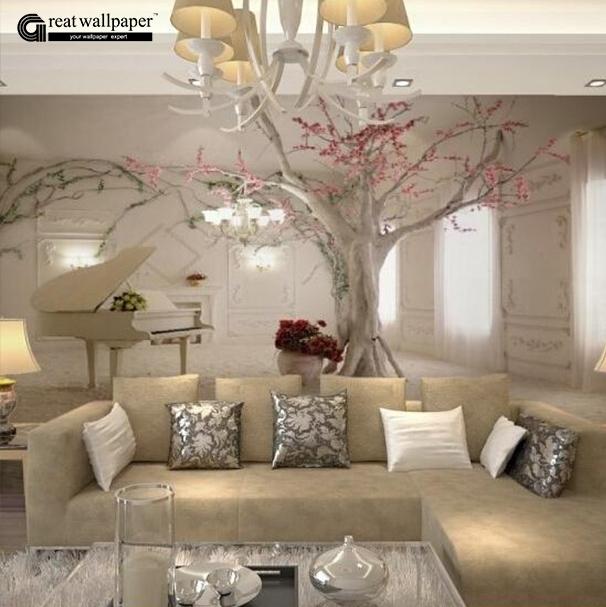 baum tapete-kaufen billigbaum tapete partien aus china baum tapete, Wohnzimmer entwurf
