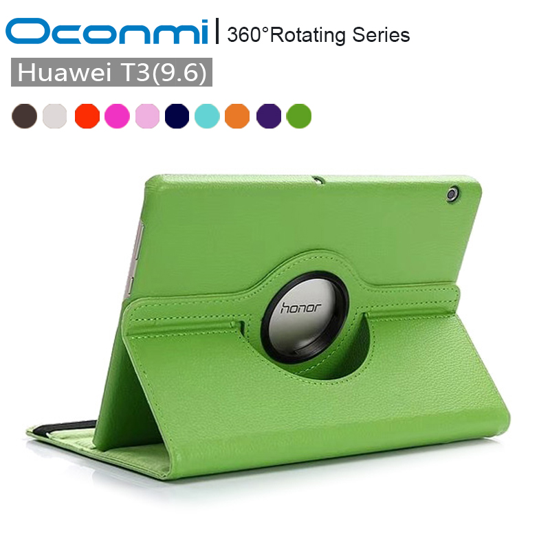 360 Rotating PU Leather case for Huawei MediaPad T3 10 AGS L09 AGS L03 tablet case