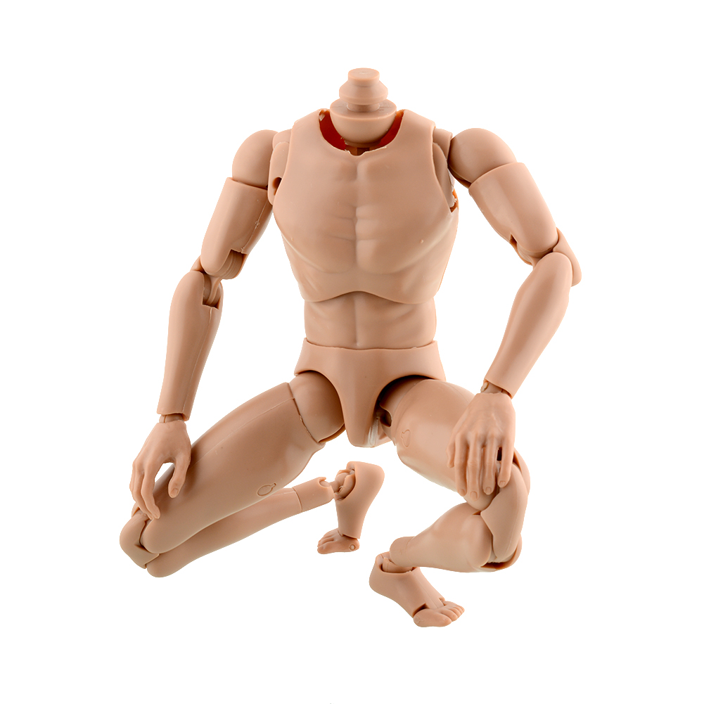 2015 New Version Narrow Shoulder 1:6 Scale Male Action Figure Human Nude Muscular Body for TOYS TTM18 TTM19