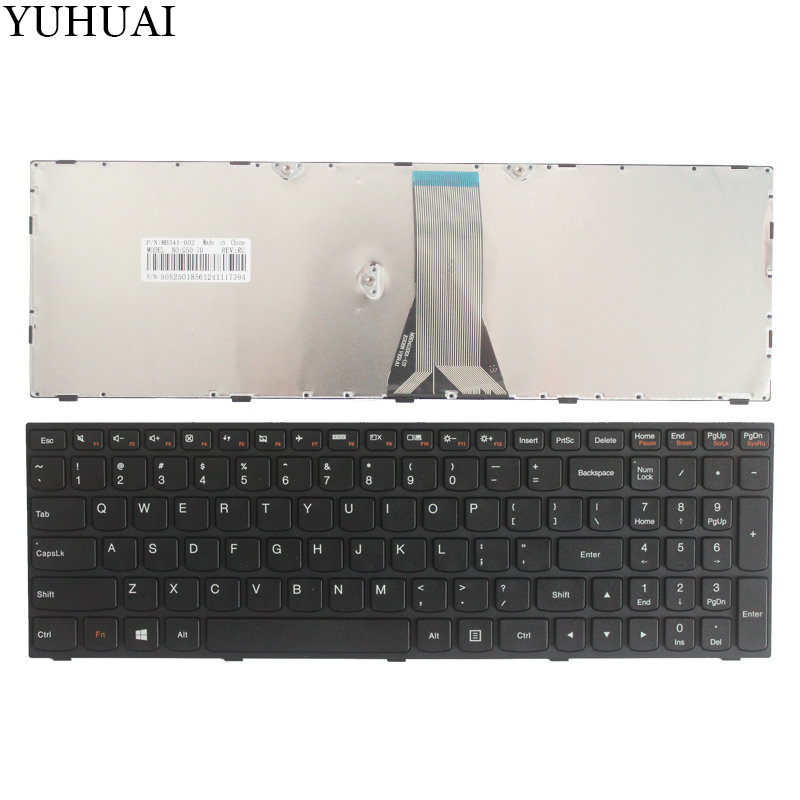 NEW US Keyboard FOR Lenovo Ideapad 300-15isk 300-15IBR 300-17ISK US Aptop Keyboard