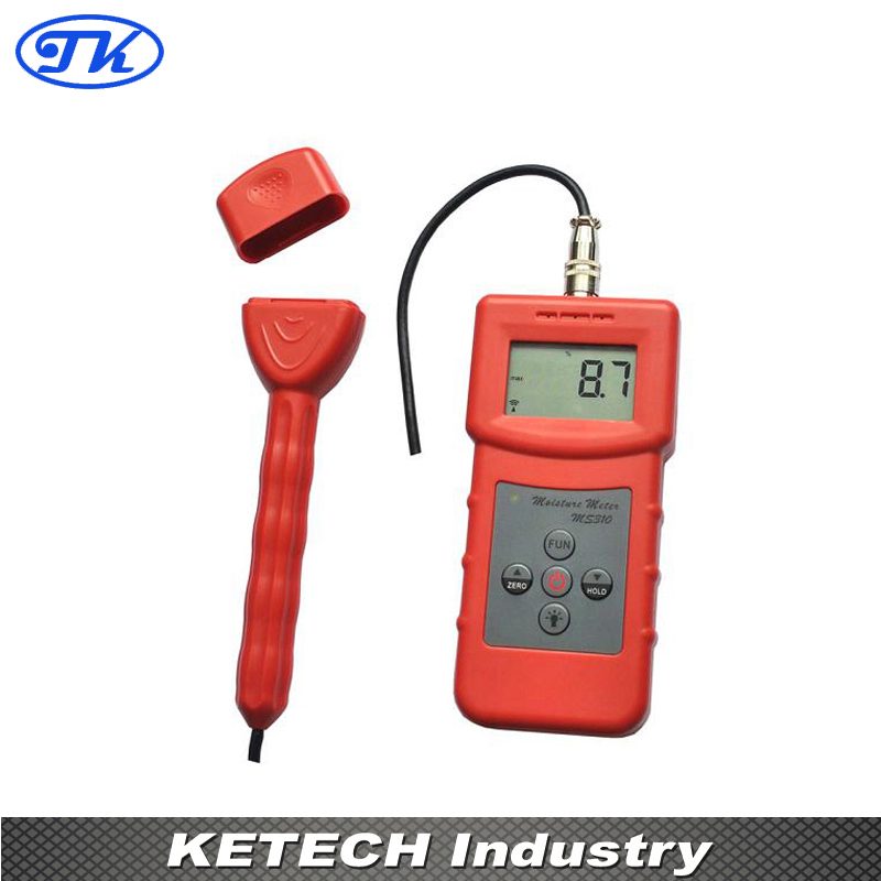 где купить Portable Wood,Timber,Paper,Bamboo,Carton,Concrete,Textile Digtial Inductive Moisture Tester MS310-S по лучшей цене