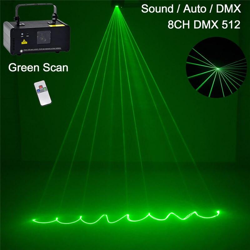 Лазерный мини сканер DPSS 50 МВт с зеленым лучом, беспроводной дистанционный проектор DMX, вечерние диско лампы для DJ, проектор для шоу, G50|stage projector|mini dmxdj disco | АлиЭкспресс