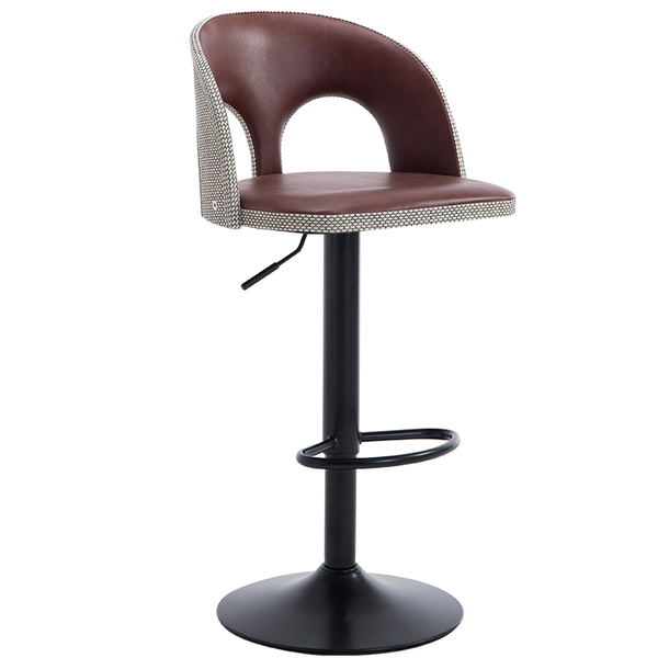 Bar Stool PU Leather Seat Police Office Chair Free Shipping Labor  Department Work Stool