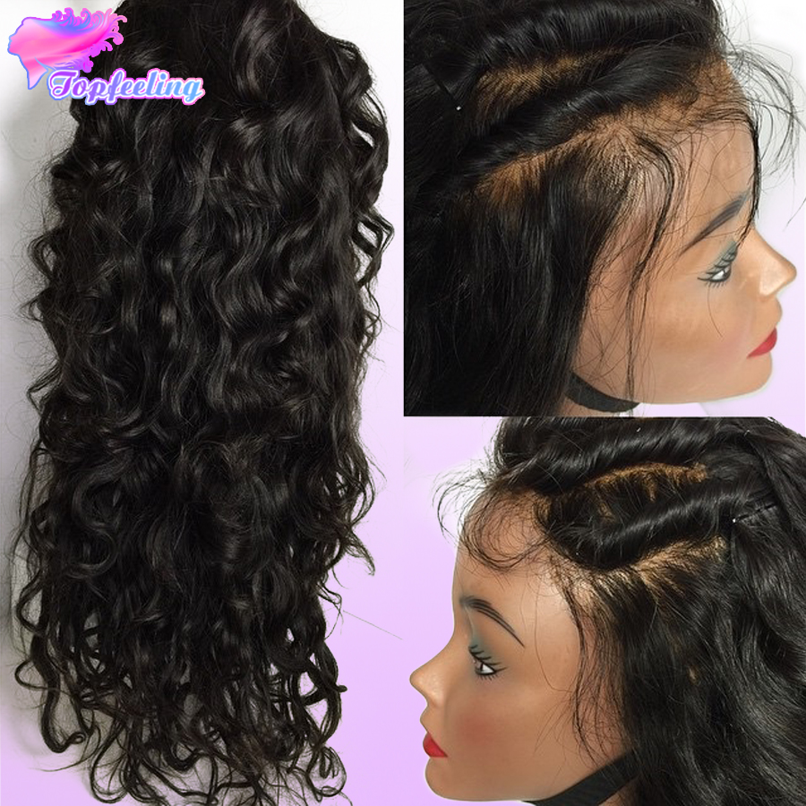 Cheap Brazilian Full Lace Wig Body Wave Full Lace Human Hair Wigs With Baby  Hair Bleached Knots Front Lace Wigs For Black Women-in Human Hair Lace Wigs  from ... 7c8f53ac45