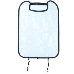 Image 3 - مقعد السيارة الغطاء الخلفي حامي للأطفال الأطفال الطفل ركلة حصيرة من الطين الأوساخ نظيفة مقعد السيارة يغطي السيارات الركل حصيرة