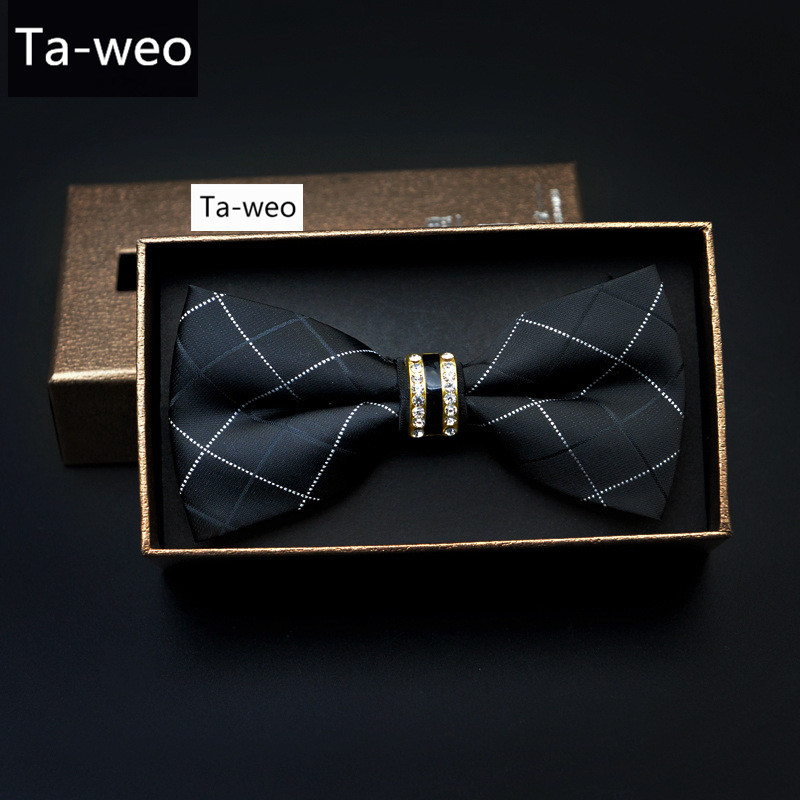 Fashion Trending High Quality Men s Bow Tie Men Dot Print Bowtie Male Marriage BowTies For