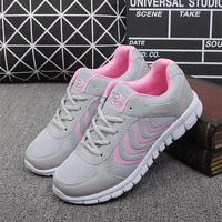 Fashion Women Casual Shoes Air Mesh Flats Shoe Lace Up Breathable Comfortable Casual Basic Shoes For