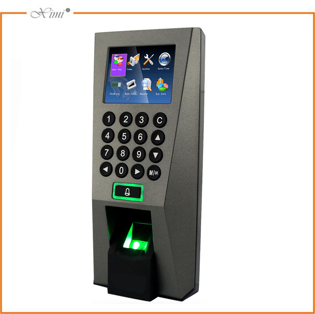 Linux system 3000 users TCP/IP fingerprint access controller with 110~240v power supply,EM lock ZK access control system kit