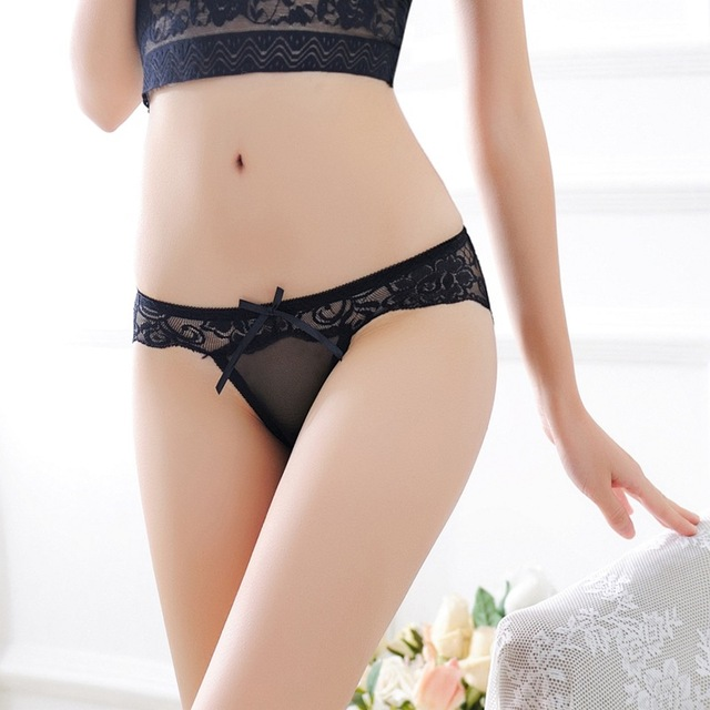 Women Sexy Panties Lace Briefs Transparent Seamless Low Waist Sexy Underpants Sexy Women Underwear New Arrival