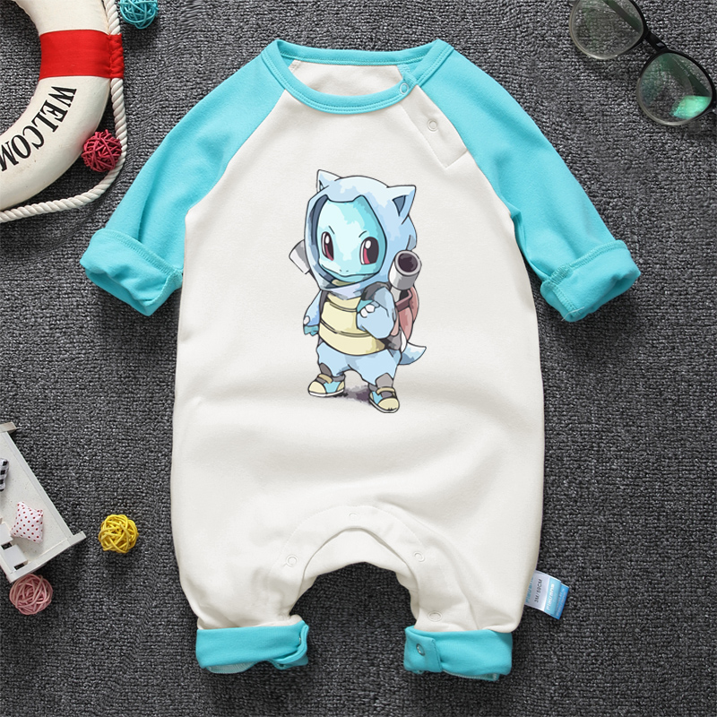 2017 Anime Lindo Bebé Recién Nacido Mameluco Infantil Bebé Niños - Ropa de bebé - foto 5