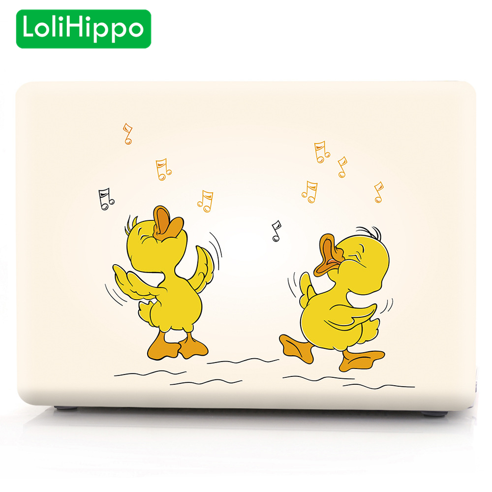 LoliHippo Lovely Duck Series Protective Case Hard Shell Protect Cover for font b Apple b font