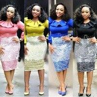 New style African Women clothing Dashiki fashion Print cloth dress size L XL XXL XXXL XXXXL FH2