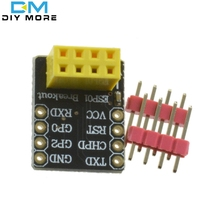 Breadboard Adapter For ESP-01 Esp8266 ESP-01S Model Of The ESP8266 Serial To WiFi Transceiver Module Breakout UART Module(China (Mainland))